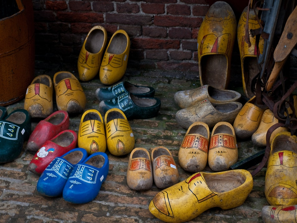 All the Wooden Shoes Delft  The Netherlands