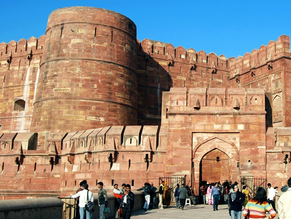 World Heritage Sights - Agra Fort, Agra Agra  India