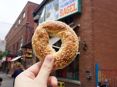 The Original Fairmount Bagel Bakery Montreal  Canada