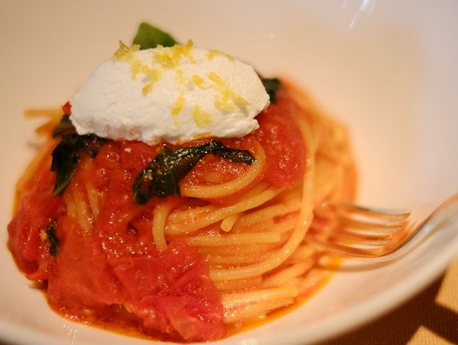 Sumptuous Spaghetti at the Bulgari Hotel in Milan