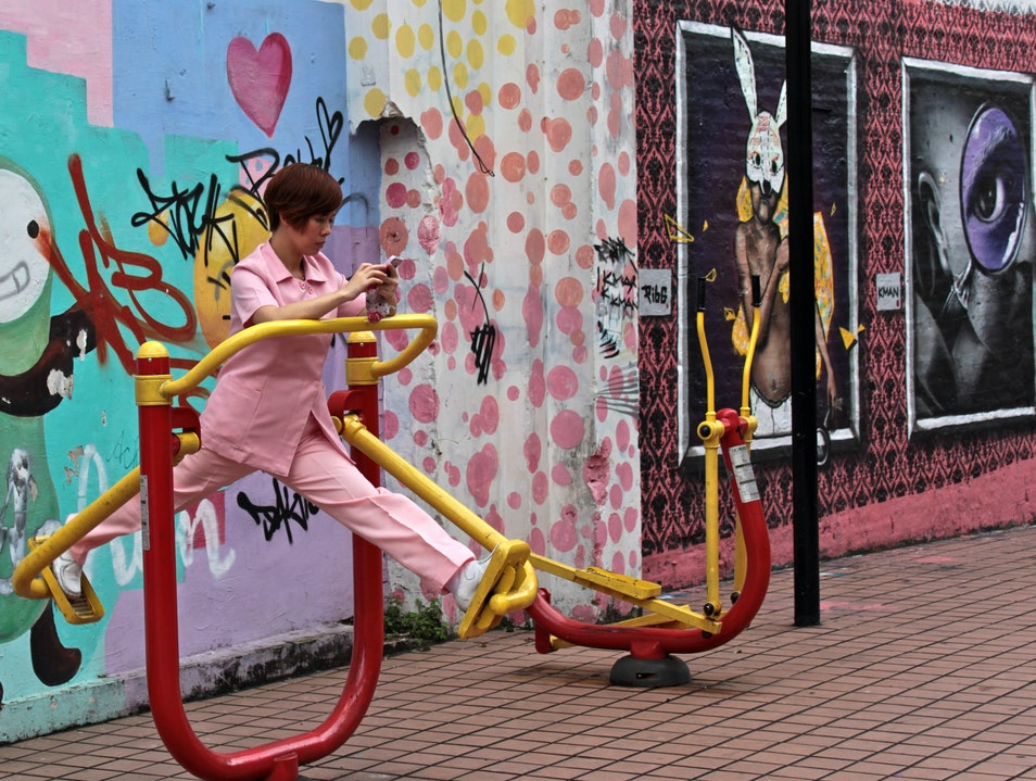 Street Art and Street Exercise
