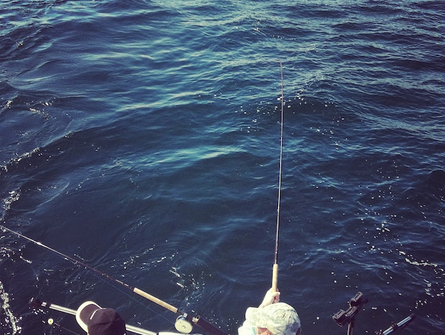 Fishing in Sooke