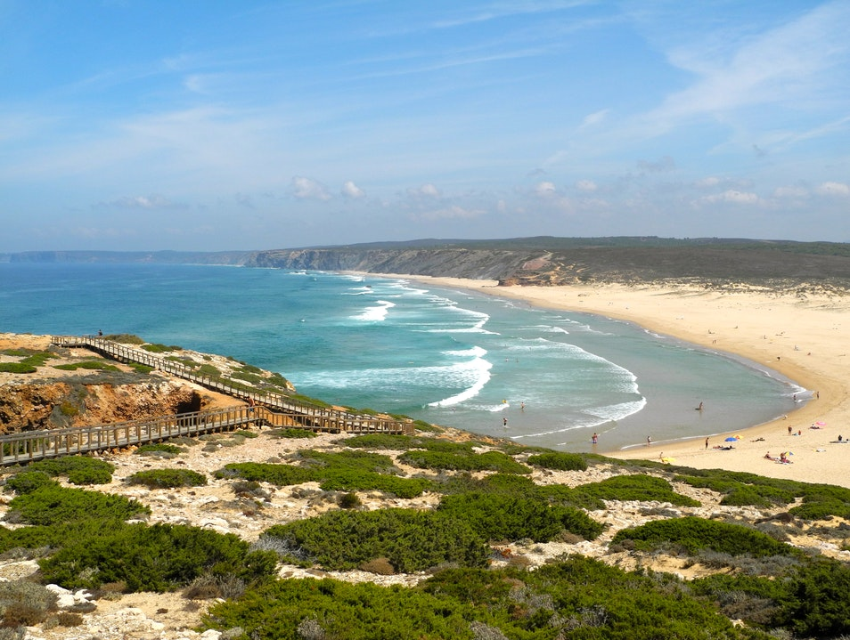 The Hiker's Path to the Beach Southwest Alentejo And Vicentine Coast Natural Park  Portugal