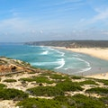 Amado Beach, Carrapateira Southwest Alentejo And Vicentine Coast Natural Park  Portugal