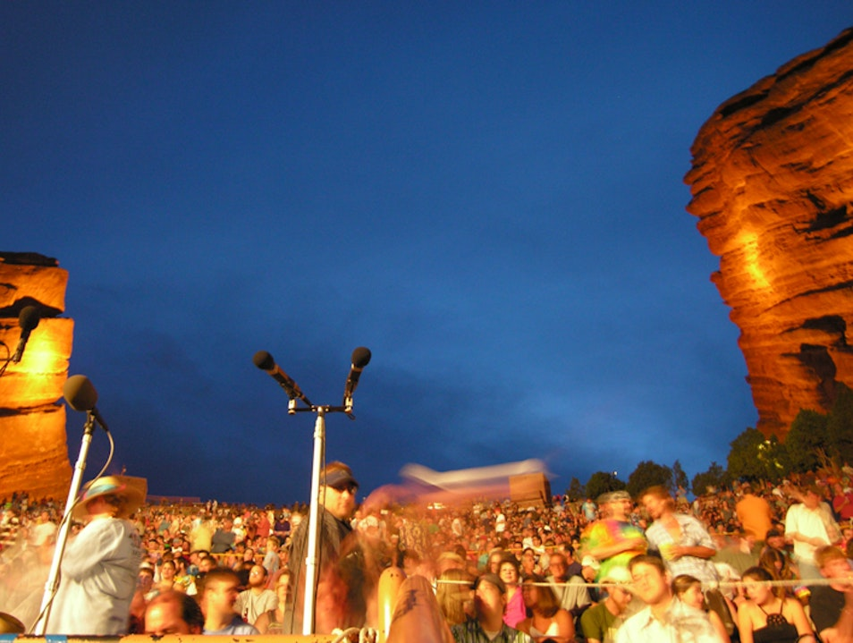 Live Music: Red Rocks Rocks  Golden Colorado United States