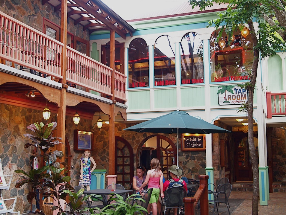 Shop Around Mongoose Junction Cruz Bay  United States Virgin Islands