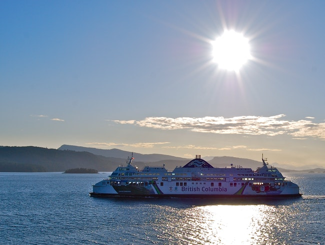 Swartz Bay Ferry to Vancouver