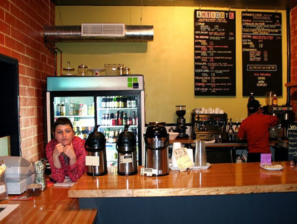 Antidote Coffee in the Heights Houston Texas United States