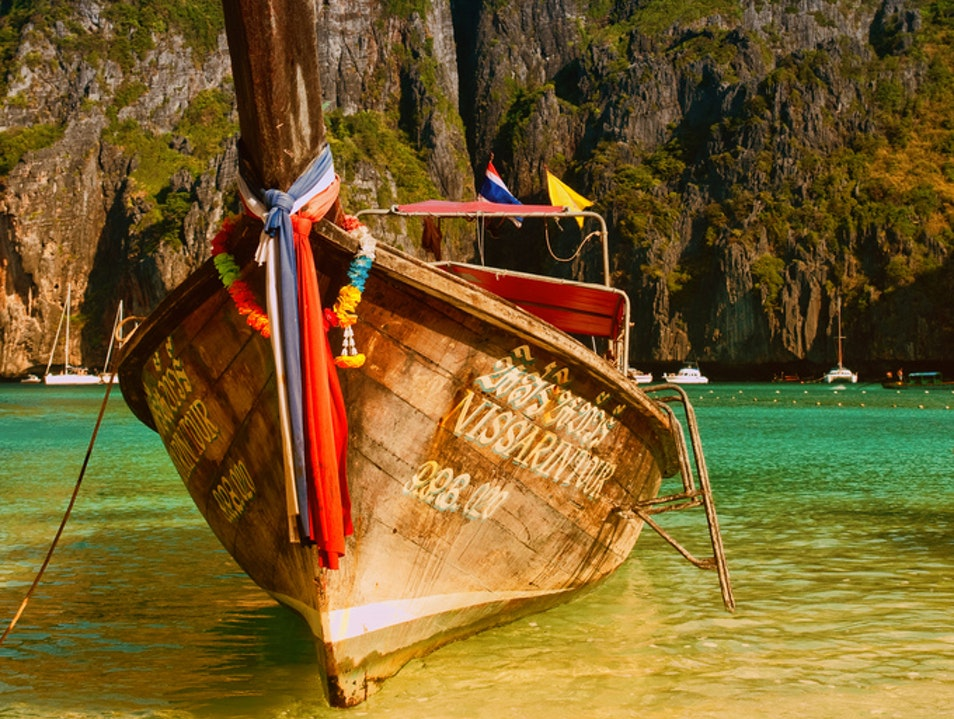 All the Way to Maya Bay  Thalang  Thailand