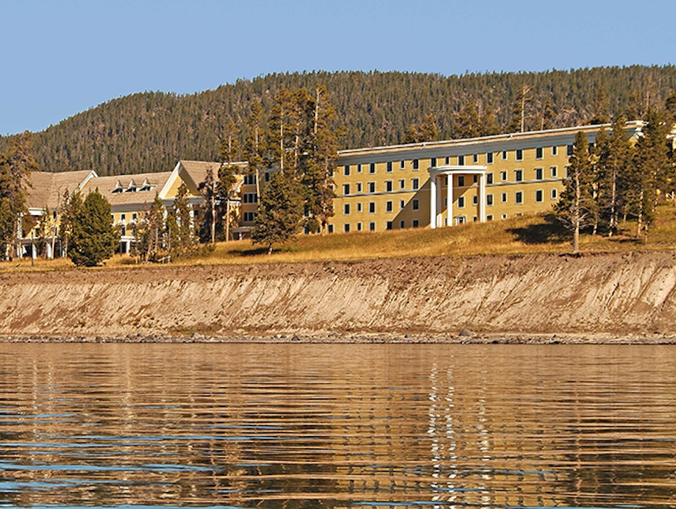 Lake Yellowstone Hotel Yellowstone National Park Wyoming United States