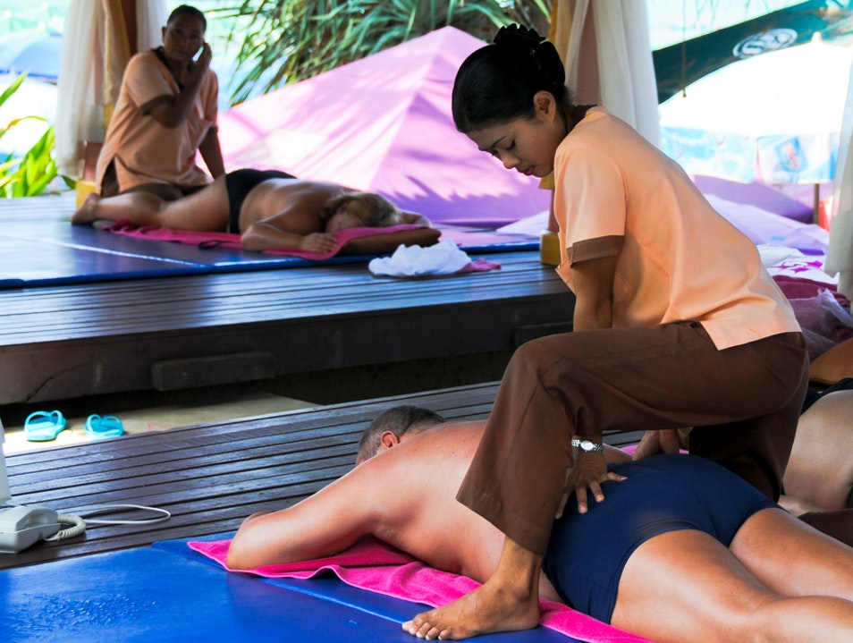 Massage to Rejuvenate Both Body and Mind Bangkok  Thailand