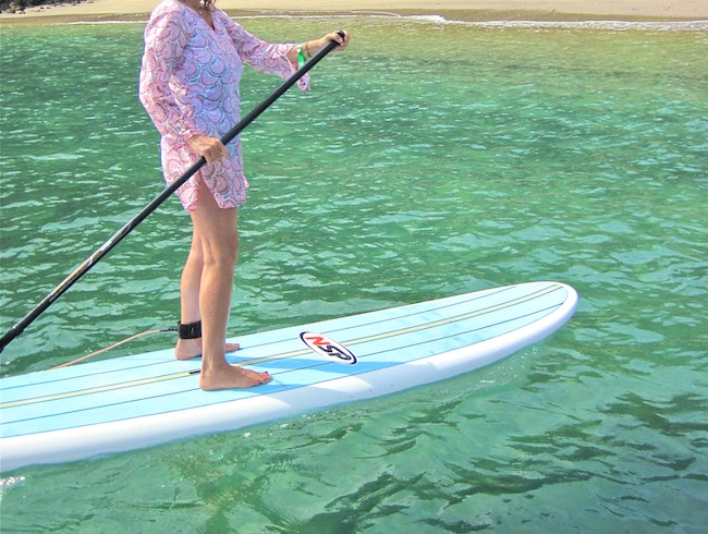 Paddleboarding in Costa Rica