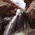 Lower Calf Creek Falls Trail Boulder Utah United States