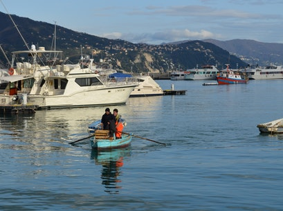 Fish Market Santa Margherita Ligure  Italy