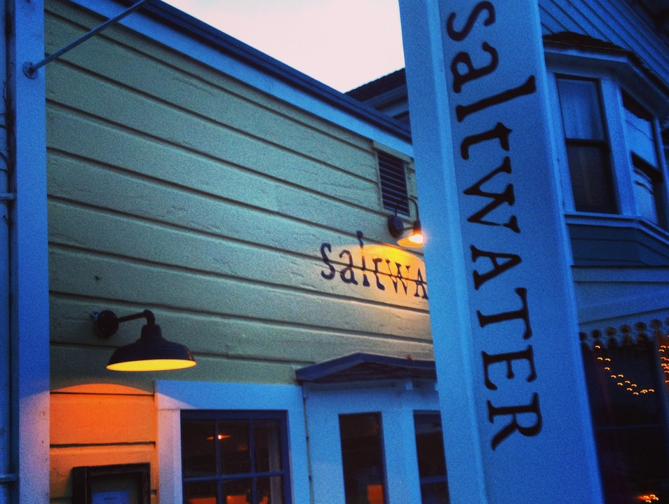 Local fare, oysters and a great wine list