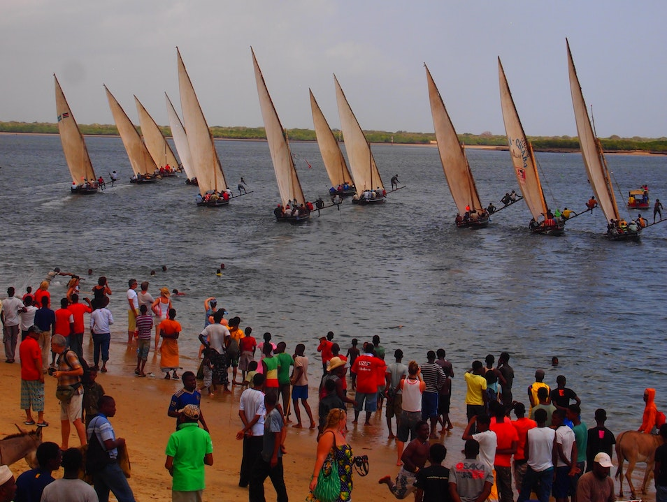 New Year's Day Dhow Race  Shela  Kenya