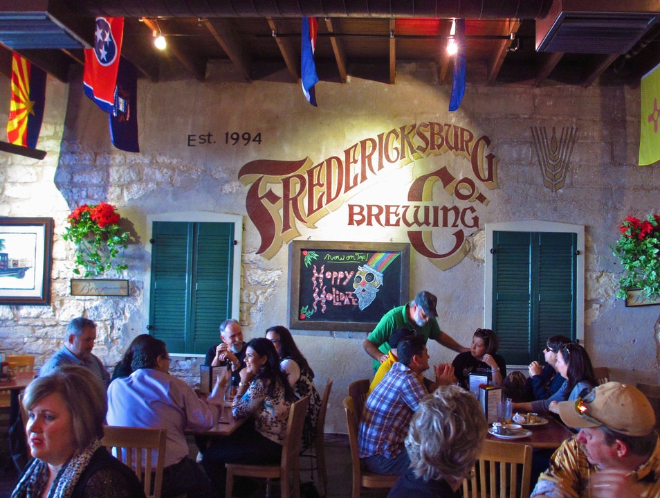 The Oldest Brewpub in Texas Fredericksburg Texas United States
