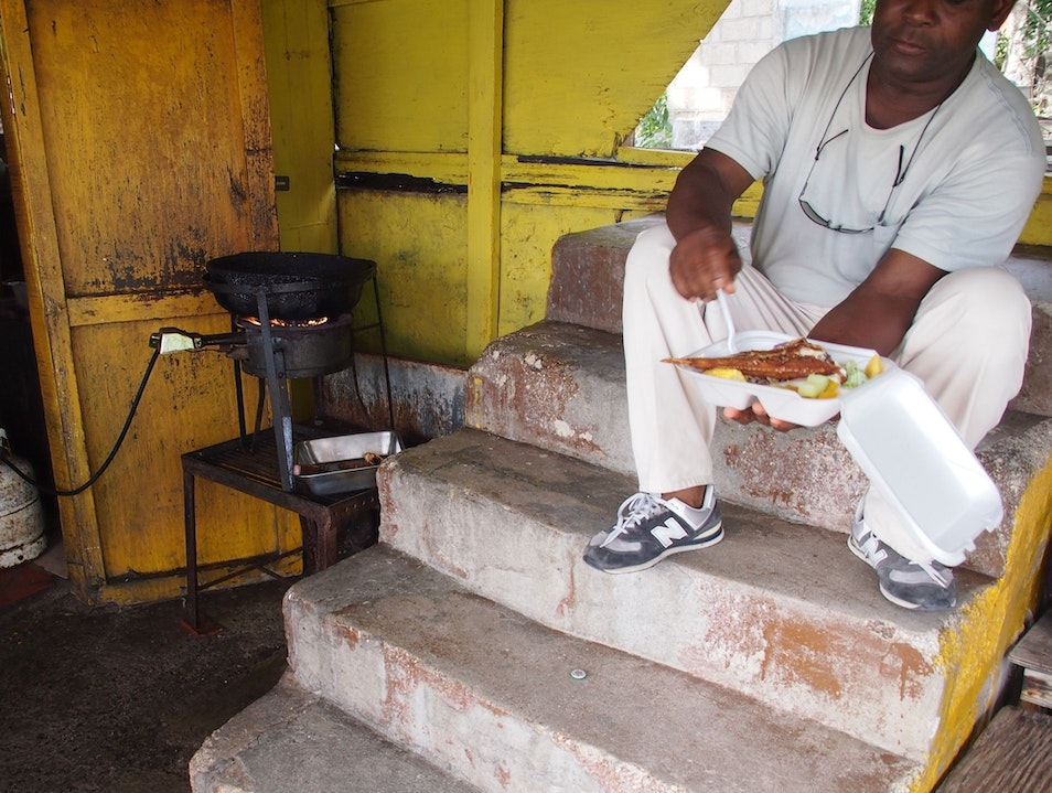 Go Undercover for Authentic Antiguan Eats Saint Mary  Antigua and Barbuda