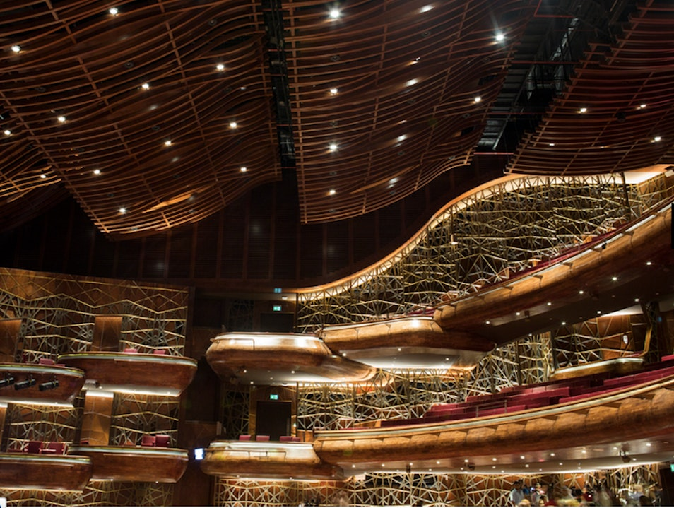 Dubai Opera Dubai  United Arab Emirates