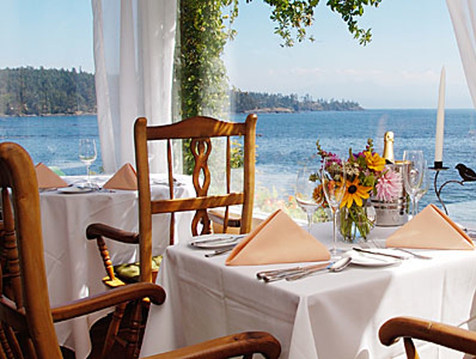 Eat a Locavore Feast at the Sooke Harbour House Sooke  Canada