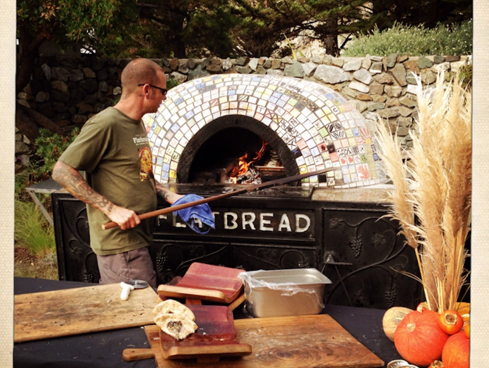 Flatbread worth heading off the beaten path for... Los Alamos California United States