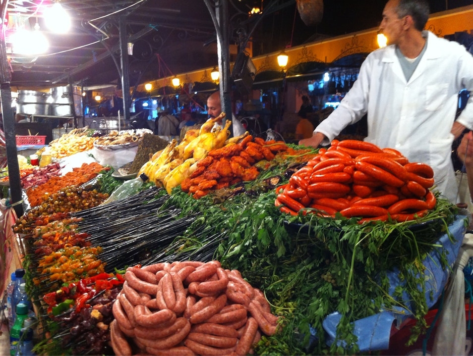 Merguez Anyone? Marrakech  Morocco