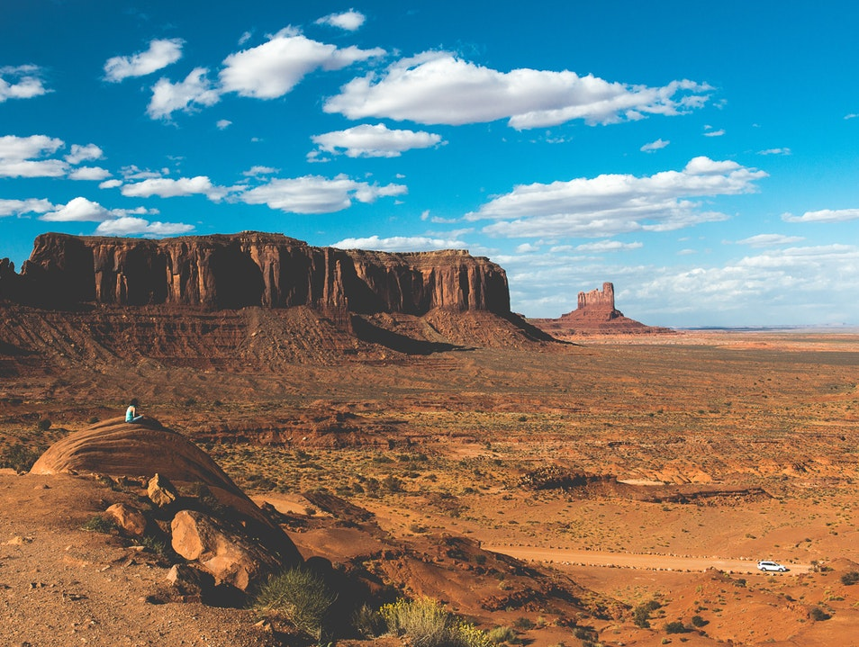 Find Inspiration in the Desert  Oljato Monument Valley Utah United States