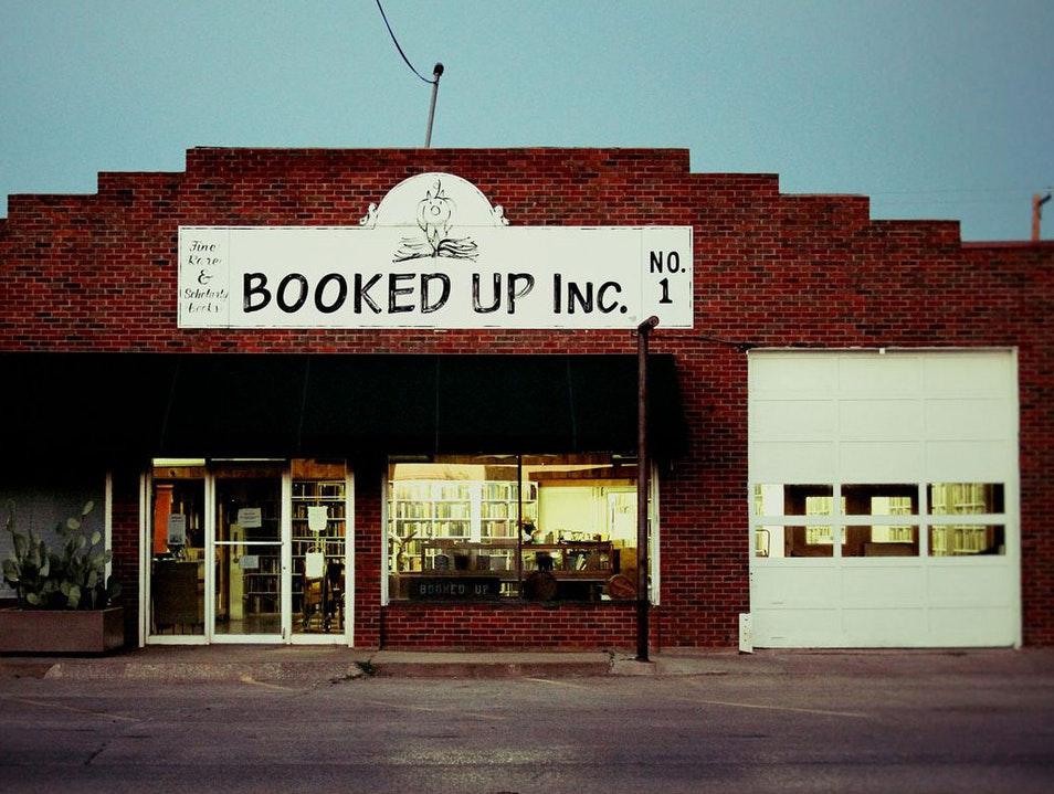 Lonesome Bookstore Archer City Texas United States
