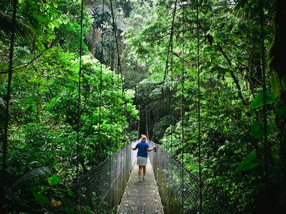 Arenal Hanging Bridges Arenal Volcano National Park  Costa Rica