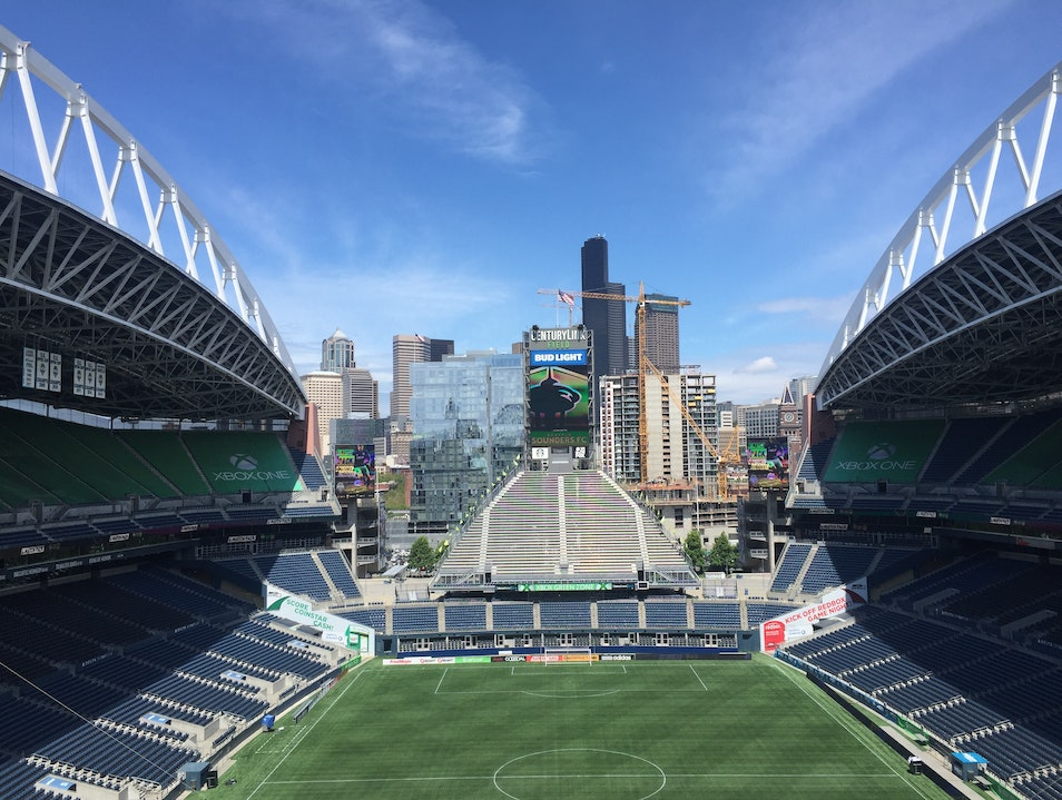 Tour CenturyLink Field Seattle Washington United States