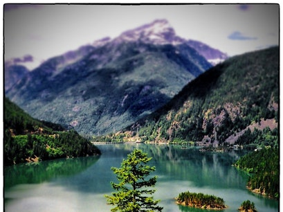 Diablo Lake Rockport Washington United States