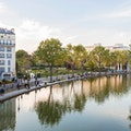 Canal St.-Martin Paris  France