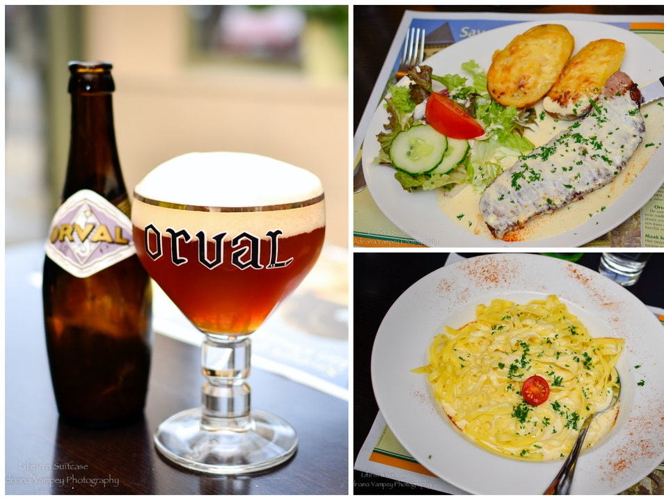 Go for the beer, stay for the food