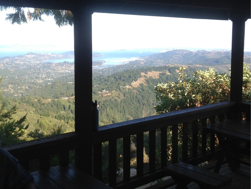 Overnight On Mt. Tam Mill Valley California United States