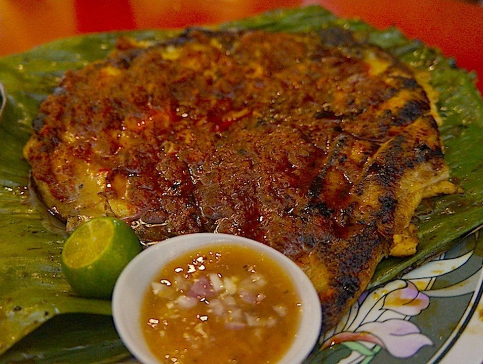 Tender BBQ Stingray in Singapore
