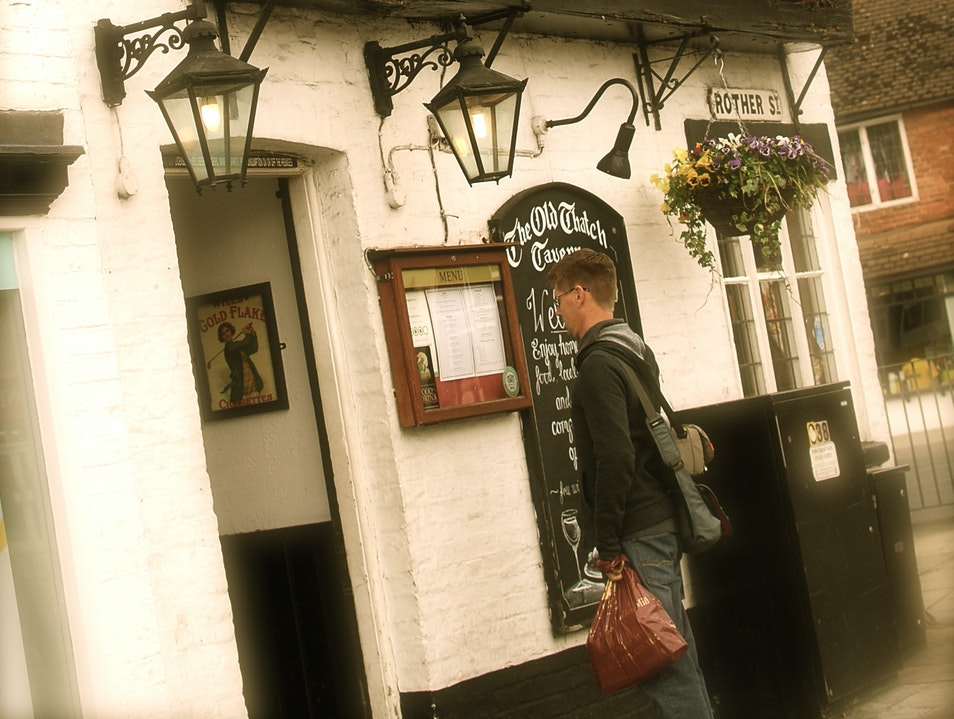 The Legend of the Tavern Ghost.... Stratford-upon-Avon  United Kingdom