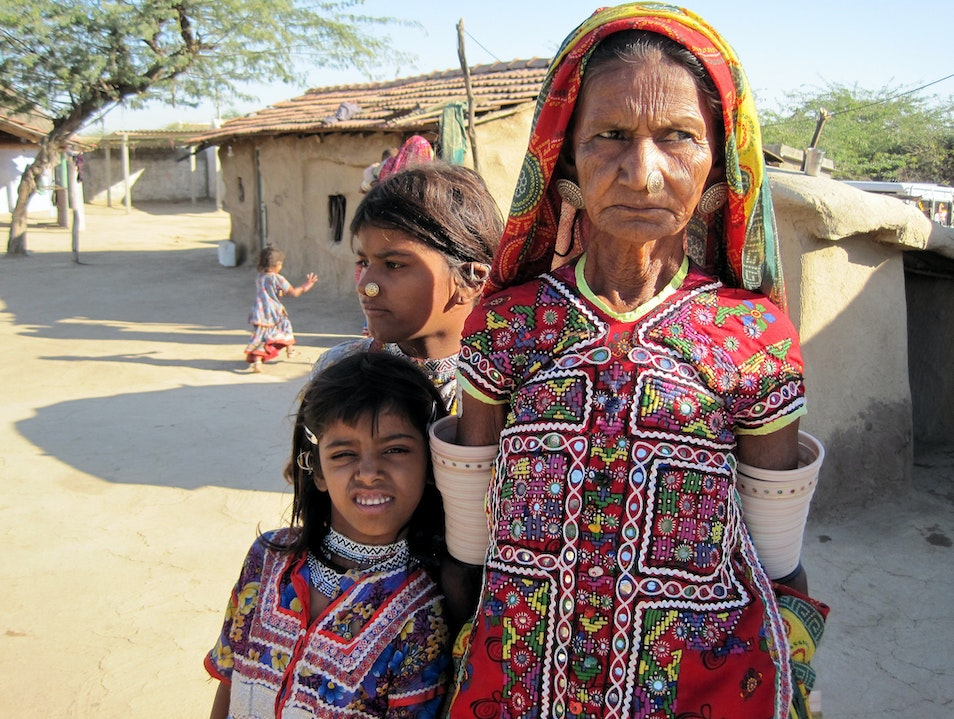 Meeting the Meghwal people of Kutch Hodka  India