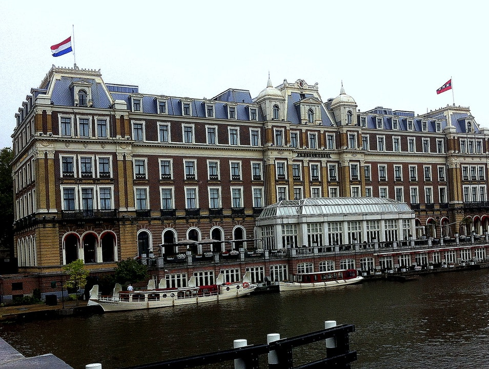The Iconic Amstel Intercontinental: Luxury on the River Amstel   Earth
