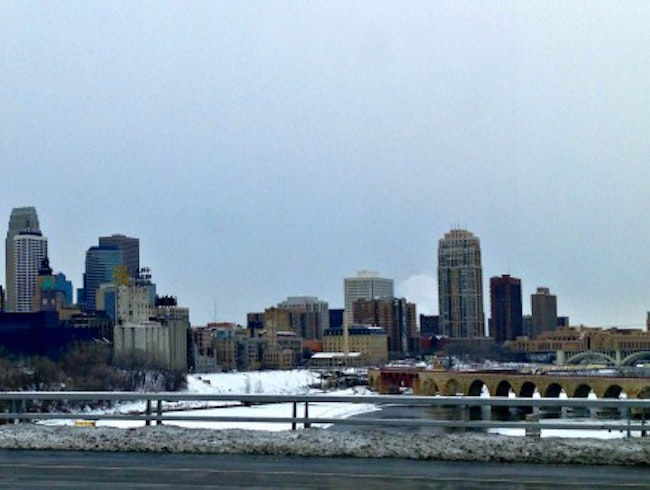 Minneapolis -  a Frozen Winterland