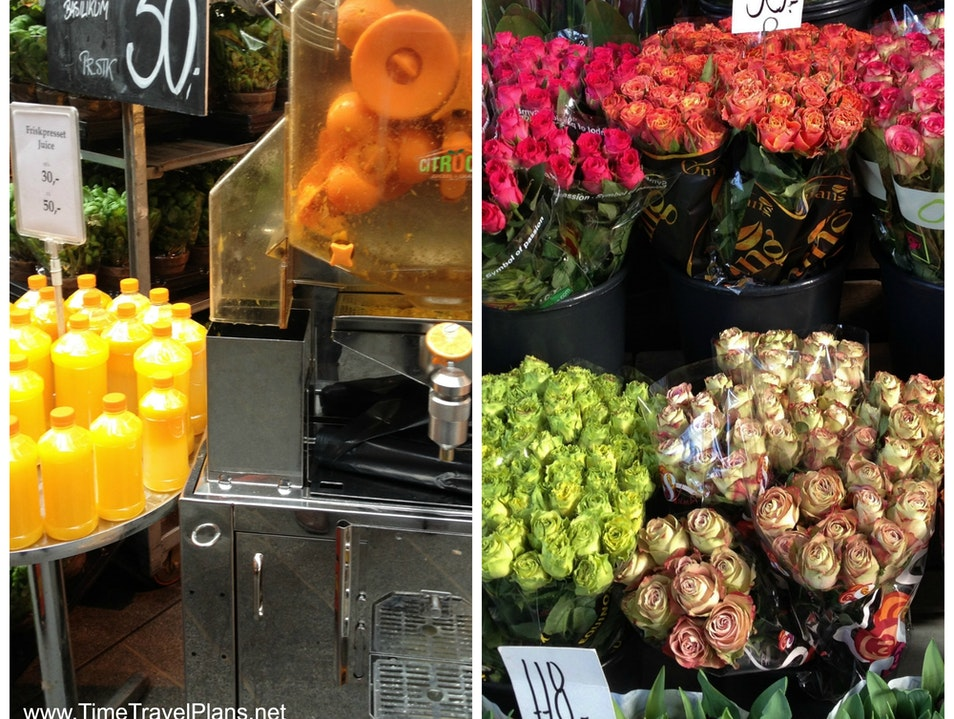 Fresh Market Fare at Torvehallerne