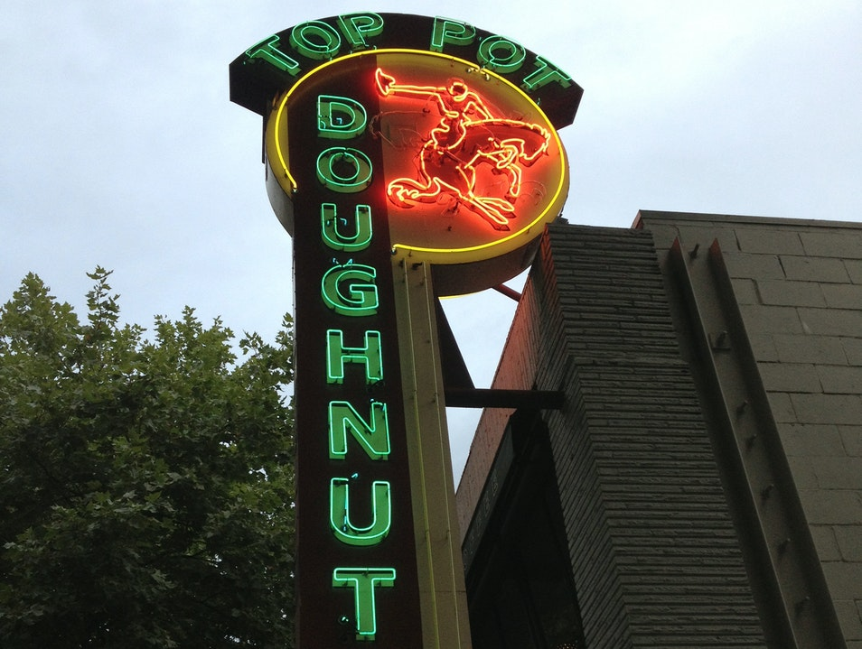 Top Pot Doughnuts is Top-Notch  Bellevue Washington United States
