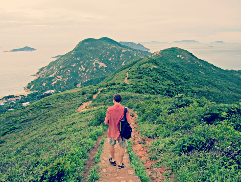 Walking the Dragon's Back Trail Shek O  Hong Kong
