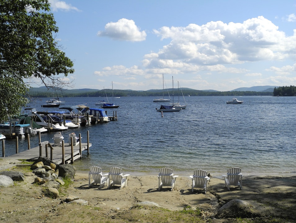 The Beach at the Inn Wolfeboro New Hampshire United States