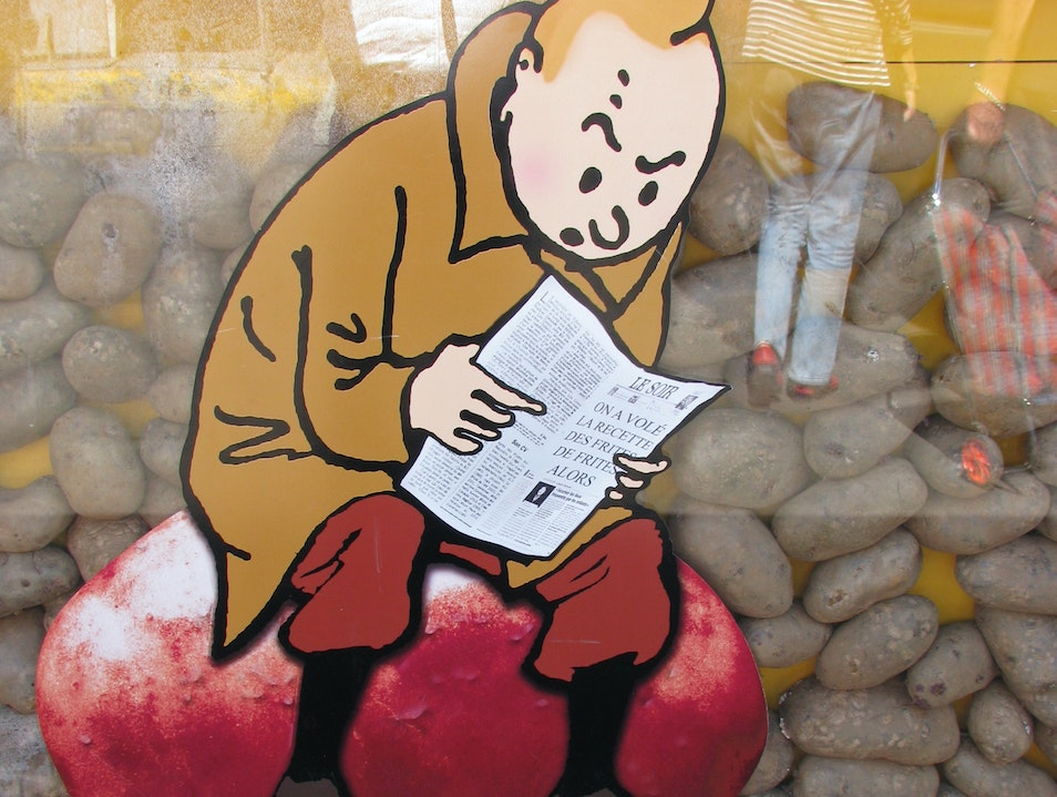 """Searching for spuds in Montréal: """"frite alors!"""""""