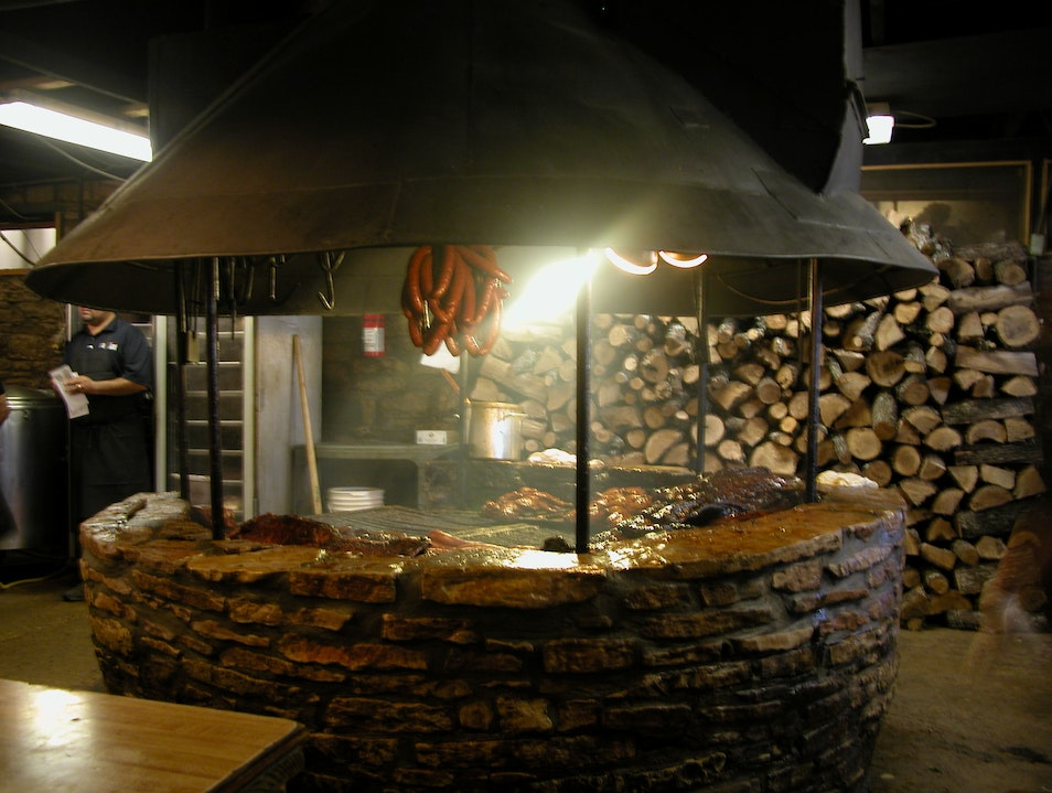 The Pit at Salt Lick Driftwood Texas United States