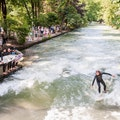Surfing in Munich Munich  Germany