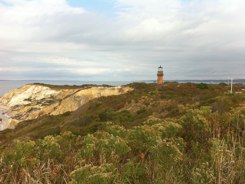 A Corner of Peace and Beauty on Martha's Vineyard Aquinnah Massachusetts United States