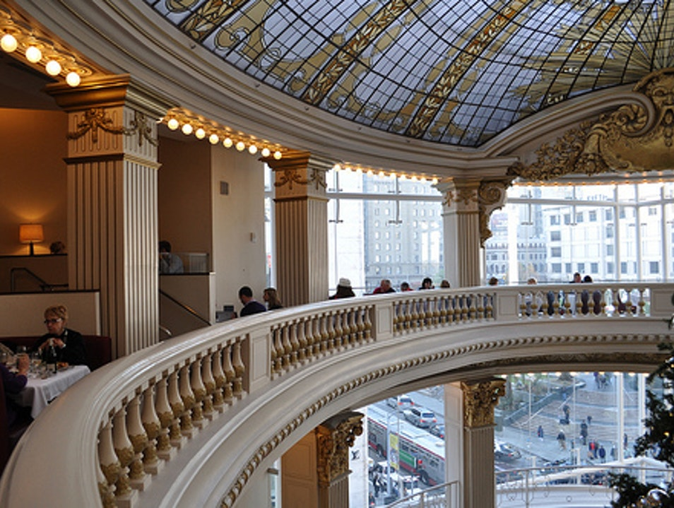 An Elegant Lunch at the Neiman Marcus Rotunda