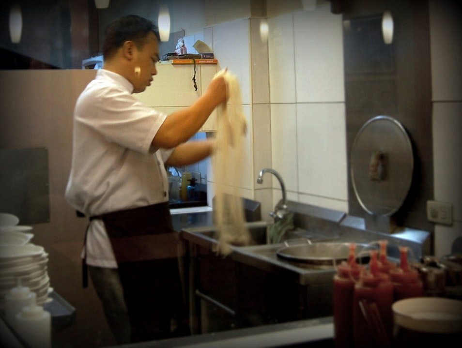 Hand-Pulled Noodles for a Long Life Fuzhou  China