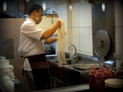 Thousands Hand Pulled Noodles Fuzhou  China